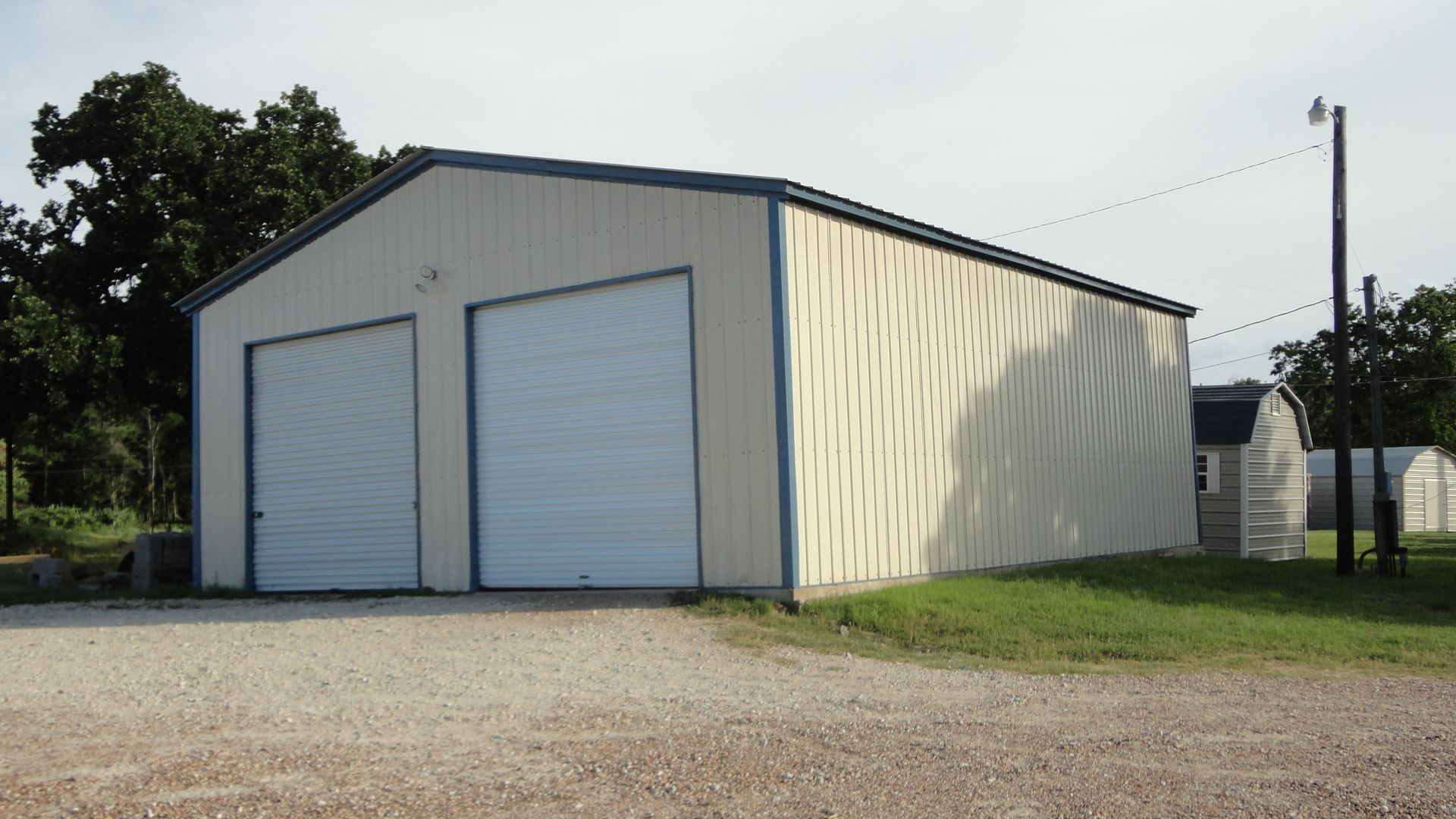 30 X 41 X 14 Vertical Garage Choice Metal Buildings