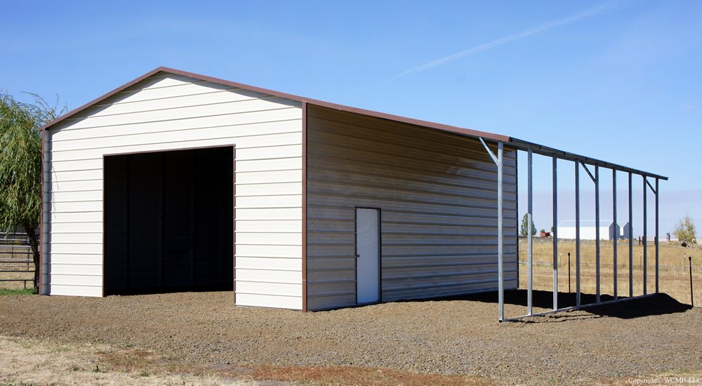 20 X 31 X 12 Boxed Eave Choice Metal Buildings