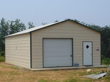 20 X 26 X 9 Garage Choice Metal Buildings