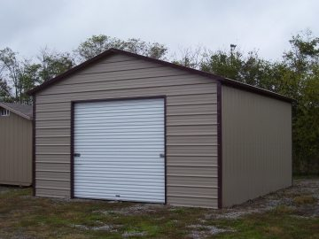 12 X 21 X 9 Garage Choice Metal Buildings