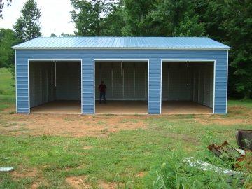 22 X 36 X 10 Garage Certified Choice Metal Buildings