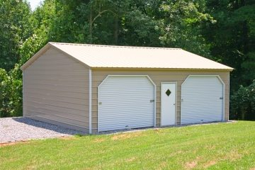20 X 26 X 10 Garage Certified Choice Metal Buildings