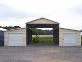 26 X 36 Garage Of 24 X 36 X 10 Garage Choice Metal Buildings